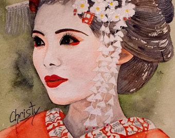 Огромное внимание в японские эстетики уделяется и красоте самого человека. Сияющая и нежная кожа - не предел совершенства