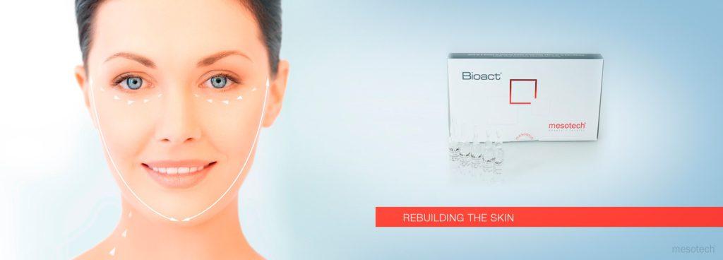 Сыворотка лифтинговая Биоакт Bioact 10x2мл Мезотек (Mesotech) Италия