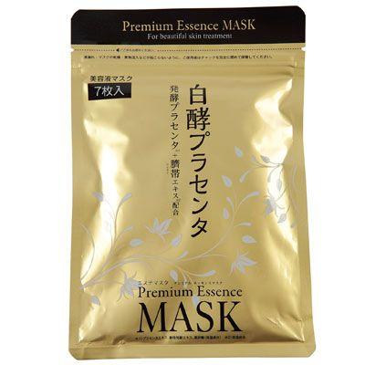 Маска HAKKOH с ферментированной плацентой HAKKOH Placenta Mask уп 7 шт. La Metne, Япония