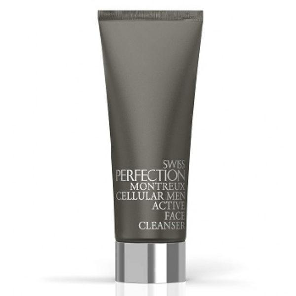 Клеточное мужское активное очищающее средство Cellular Men Active Face Cleanser 100 мл Swiss Perfection Швейцария