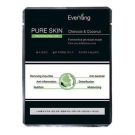 Маска «Чистая кожа» на основе кокосовой воды и активированного угля Pure Skin Mask EverYang