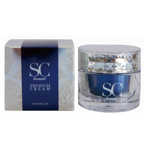 Пептидный премиум-крем SC Beaute Premium Cream 30 мл Amenity Япония