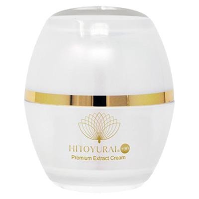 Антивозрастная крем со стволовыми клетками Premium Extract Cream 30гр. Hitoyurai +30 Япония