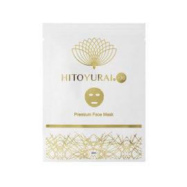 Антивозрастная маска для лица со стволовыми клетками Premium Face Mask Hitoyurai +30 Япония