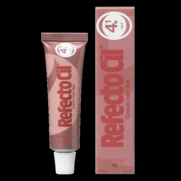 Краска для бровей и ресниц Красная Red RefectoCil Австрия