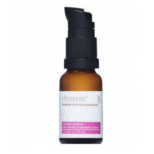 Крем антивозрастной от морщин для нежной кожи вокруг глаз Eye Rejuvenating Anti-Wrinkle Treatment Cream 15 мл iSystem Италия