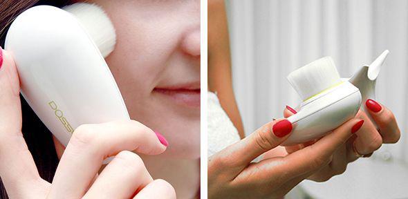 Шелковая кисть для глубокого очищения лица Facial Brush Phymongshe Корея