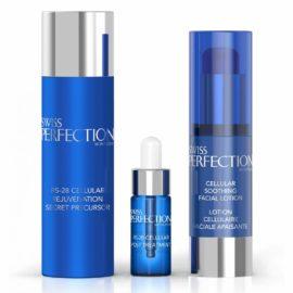 Клеточный коллагеновый набор для ухода за кожей лица (4 процедуры) Cellular Rejuvenation Secret Mask Set Swiss Perfection Швейцария