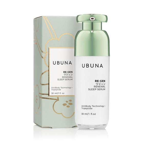 Антивозрастная обновляющая ночная сыворотка Re-Gen Renewal Sleep Serum 30 мл Ubuna Япония